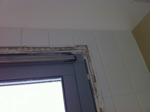חלון המטבח לא גמור